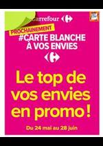 Prospectus Carrefour : Le top de vos envies en promo