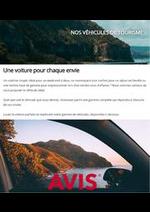 Services et infos pratiques Avis : Nos véhicules de tourisme