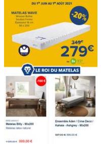 Prospectus Le Roi du Matelas ERPENT : Le Grand Destockage