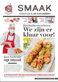 Prospectus Boucherie Renmans BRAKEL : Smaak de krant voor de echte barbecueliefhebber