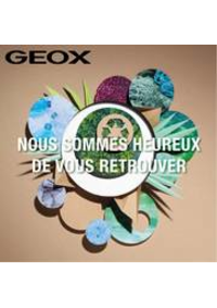 Catalogues et collections Geox Bruxelles - Rue neuve : Nous sommes heureux de vous retrouver