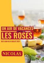 Prospectus  : Un air de vacances les rosés