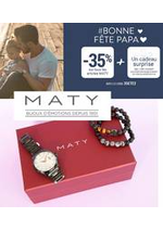 Prospectus Maty : Bonne fête à tous les papas