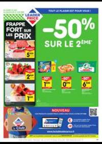 Prospectus Leader Price Clermont-Ferrand : -50% sur le 2ème