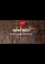 Prospectus Buffalo : Menu Kids