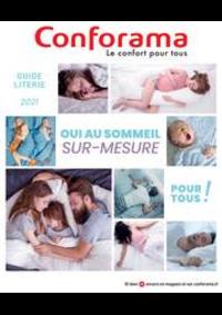 Prospectus Conforama COLOMBES : Oui au sommeil sur-mesure puor tous