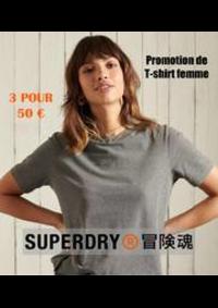 Prospectus Superdry Boulogne-Billancourt : Promotion de T-shirt femme