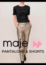 Prospectus Maje : Pantalons & Shorts