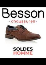 Prospectus besson : Soldes Homme