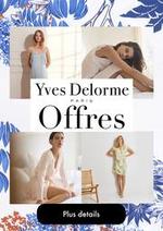 Promos et remises  : Offres Yves Delorme