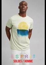 Prospectus Esprit : Soldes / Homme