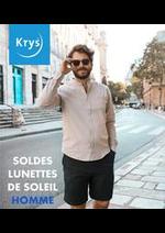 Prospectus Krys : SOLDES LUNETTES DE SOLEIL HOMME