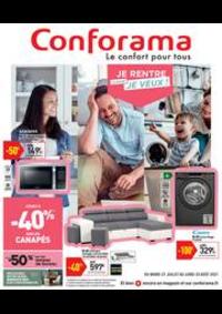 Prospectus Conforama BESANCON : Catalogue Conforama