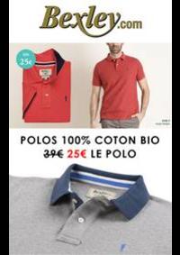 Prospectus Bexley Paris 4° : Promotion Polos Bexley