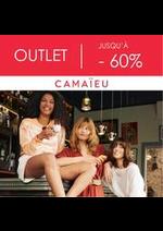 Prospectus Camaieu : OUTLET JUSQU'À - 60%