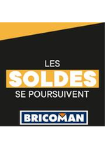 Prospectus Bricoman : Les Soldes se poursuivent