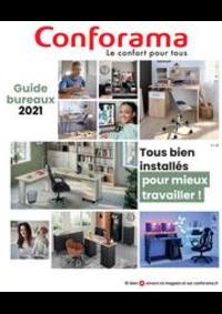 Prospectus Conforama COLOMBES : Guide Bureaux 2021