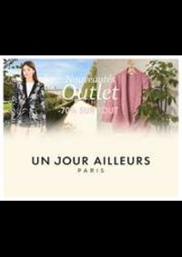 Prospectus Un jour ailleurs AULNAY SOUS BOIS : Nouveautés Outlet -70% sur TOUT