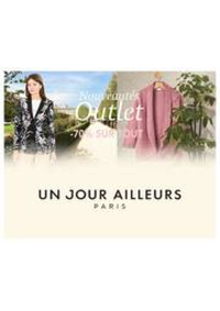 Prospectus Un jour ailleurs MOISSELLES : Nouveautés Outlet -70% sur TOUT