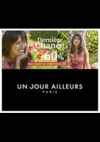 Prospectus Un jour ailleurs PARIS 33-35 RUE TRONCHET : Dernière Chance -60% sur toute la collection été 21