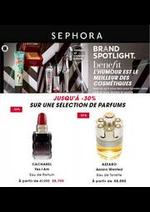 Prospectus Sephora : 30% parfums