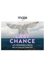 Prospectus Maje : Last Chance!