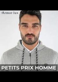 Prospectus Armor Lux L ILE ST DENIS : PETITS PRIX HOMME