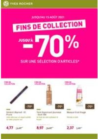 Prospectus Yves Rocher Leers : Fins de collection : votre sélection de produits de beauté jusqu'à -70%