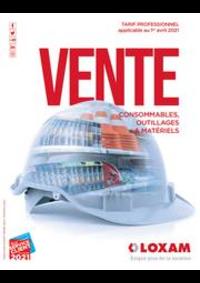 Prospectus Loxam LE HAVRE : CATALOGUE DE VENTE