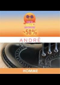 Prospectus André Pantin : Coup de soleil -50% HOMME