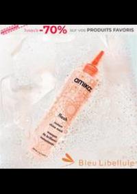 Prospectus Bleu Libellule AULNAY-SOUS-BOIS : -70% sur vos PRODUITS FAVORIS