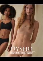 Prospectus Oysho : Nouvelle Collection / Lingerie