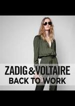 Prospectus Zadig et voltaire : Back to work