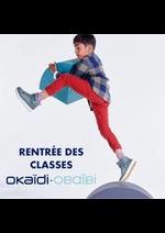 Prospectus Okaïdi : RENTRÉE DES CLASSES