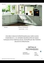 Promos et remises  : Cuisine complète et sur mesure Cascada