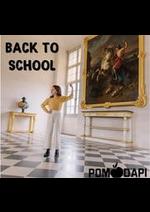 Prospectus Pom d'Api : BACK TO SCHOOL