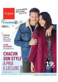 Prospectus E.Leclerc : CHACUN SON STYLE À PRIX E.LECLERC