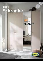 Prospectus IKEA : Schränke 2021