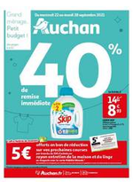 Prospectus Auchan : Grand ménage...petit budget