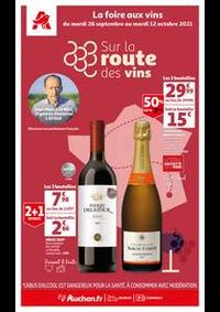 Prospectus Auchan ISSY LES MOULINEAUX : Sur la route des vins