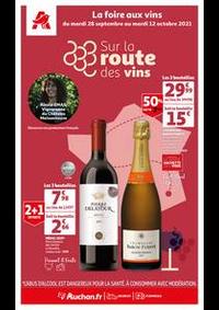 Prospectus Auchan CERGY : Sur la route des vins