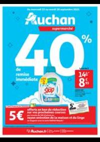 Prospectus Auchan Supermarché Paris 12 Reuilly : Tout pour le grand ménage d'automne !
