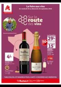 Prospectus Auchan Supermarché Paris 12 Reuilly : Un grand choix de vins en supermarché !