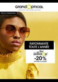 Prospectus Grand Optical Paris : Offress