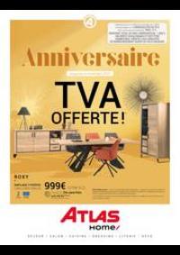 Prospectus Atlas EZANVILLE : Anniversaire TVA Offerte!