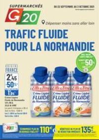 Prospectus G20 PARIS 4 St-Antoine : Trafic Fluide Pour La Normandie