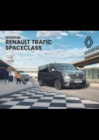 Prospectus Concession Renault RELAIS DE BRIE DES NATIONS : NOUVEAU RENAULT TRAFIC SPACECLASS