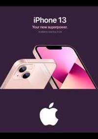 Prospectus Apple Store Paris Opéra : iPhone 13