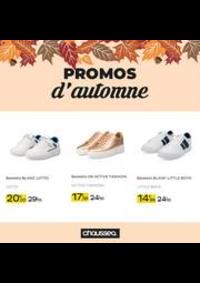 Prospectus Chausséa PONTARLIER : Promos d'automne