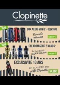 Prospectus Clopinette NOISY-LE-GRAND : TOUS LES PRIX
